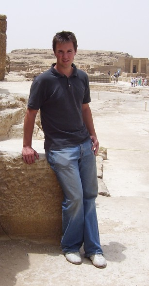 Kevin Walsh in Egypt